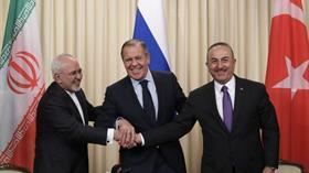 BM ve Türkiye-Rusya-İran Dışişleri bakanları Cenevre'de uzlaştı