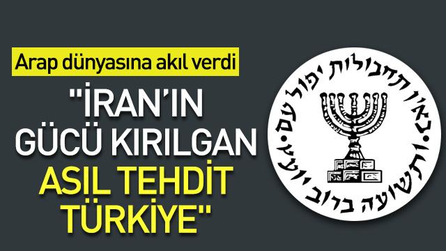 Mossad Başkanı Cohen: İran'ın gücü kırılgan, asıl tehdit Türkiye