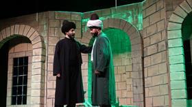 """""""Şems ile Mevlana"""" oyunu tiyatroseverlerle buluştu"""