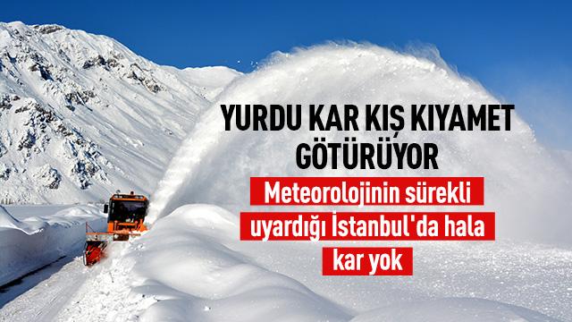Türkiye kara kışa teslim!