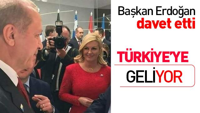 Başkan Erdoğan'ın davetini kıramadı