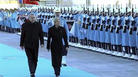 Cumhurbaşkanı Erdoğan, Kitaroviç'i resmi törenle karşıladı