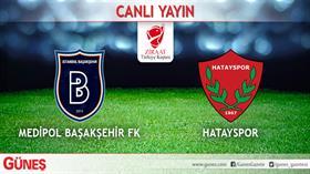 Medipol Başakşehir-Hatayspor   CANLI