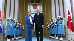 Başkan Erdoğan'ın davetini kıramadı: Hırvatistan Cumhurbaşkanı Türkiye'ye geliyor