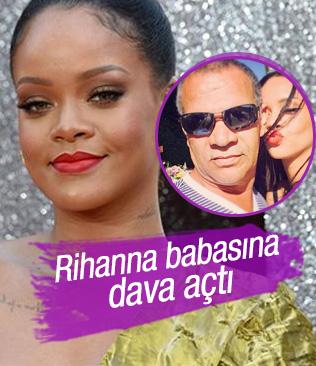 Rihanna'dan babasına soyadı davası
