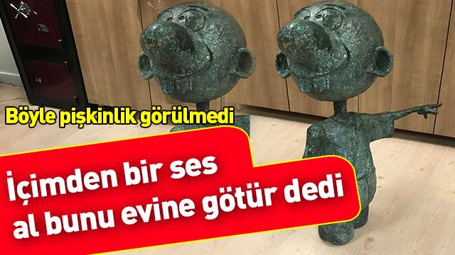 'Avanak Avni' heykelini çalan şahsa 10 yıl ceza