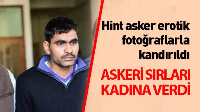 Hint asker yargılanıyor: Erotik fotoğraflarla kandırıldı