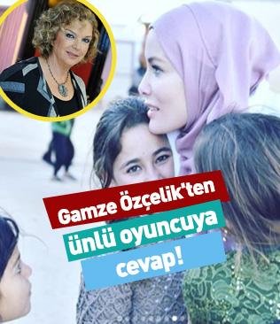 Gamze Özçelik'ten ünlü oyuncuya cevap! Selda Alkor eleştiri yağmuruna tutuldu