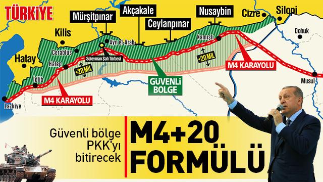 Güvenli bölge PKK'yı bitirecek
