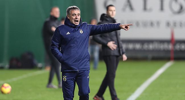 Ersun Yanal'dan futbolcularına uyarı! 'Hata yapmamamız gerekiyor'