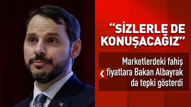 Bakan Albayrak: Marketlerde hala istediğimiz rakamlar yok