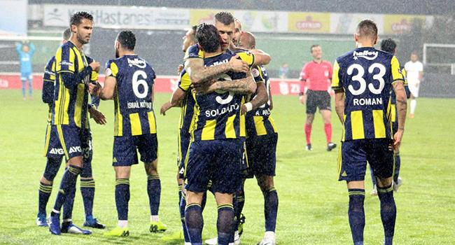 Fenerbahçe kupada Ümraniyespor'a konuk oluyor! İşte muhtemel 11'ler