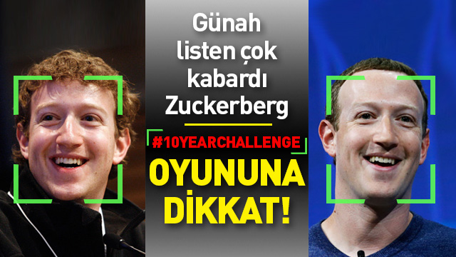 """Yeni trend """"10-year-challenge"""" Facebook'un bir oyunu mu?"""