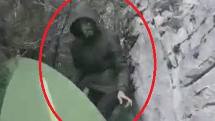 Kanyonda 4 gün önce kaybolan üniversiteli gencin son görüntüsü