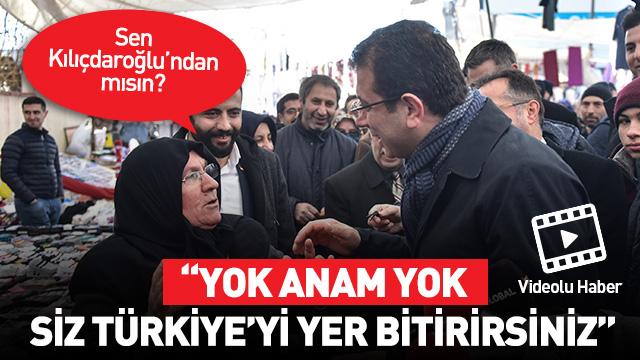 Vatandaştan İmamoğlu'na: Ben Tayyip'ten vazgeçmem
