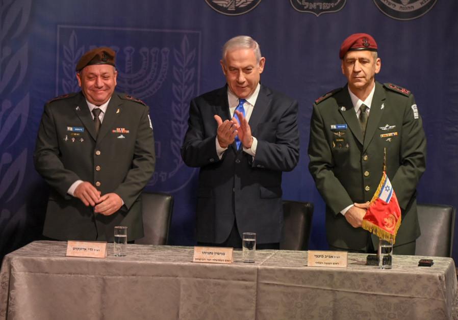 Netanyahu: Genelkurmay başkanımız, Arap ülkelerinin komutanlarıyla görüşüp kucaklaştı