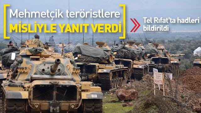 Milli Savunma Bakanlığı: Afrin bölgesinde taciz ateşlerine gerekli karşılık verilmiştir