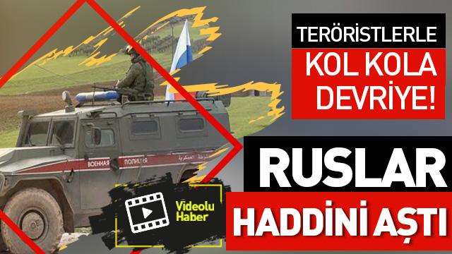 Skandalın görüntüleri ortaya çıktı! YPG ortak devriyede!