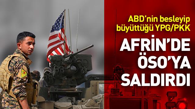 Afrin kırsalında ÖSO'ya saldırı!