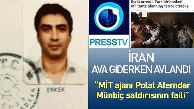 İran Polat'ı Münbiç saldırısının sorumlusu gösterdi