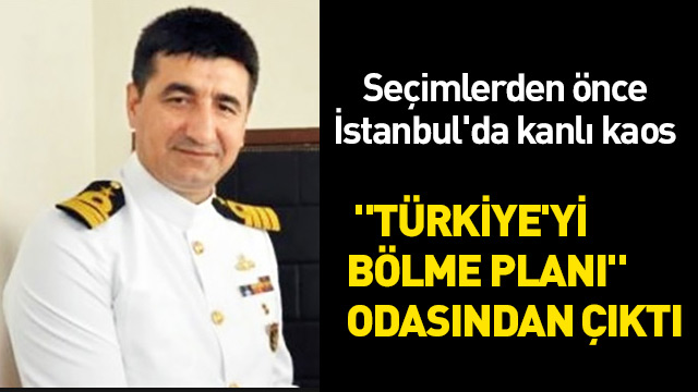 """Darbeci general Sinan Sürer'in odasından """"Türkiye'yi bölme planı"""" çıktı"""