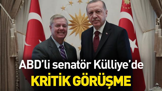 Başkan Erdoğan-Graham görüşmesi