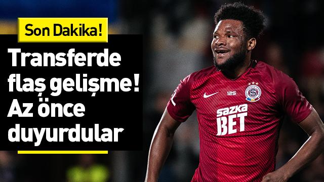 Galatasaray, Benjamin Tetteh transferi için Sparta Prag ile anlaştı!