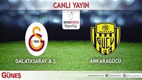 Galatasaray-Ankaragücü | CANLI
