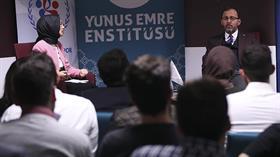 Bakan Kasapoğlu Almanya'daki Türk öğrencilerle buluştu