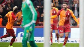 Galatasaray evinde Ankaragücü'nü 6-0 mağlup etti