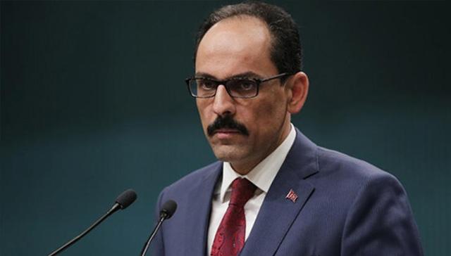Cumhurbaşkanlığı Sözcüsü İbrahim Kalın'dan eski DEAŞ'la mücadele temsilcisi McGurk'a yanıt:  PKK propagandası yapıyorsun
