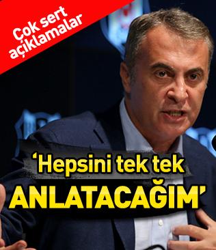 Fikret Orman'dan çok sert açıklamalar! 'Beşiktaş'ın içinde maç kaybedilince sevinen insanlar var'