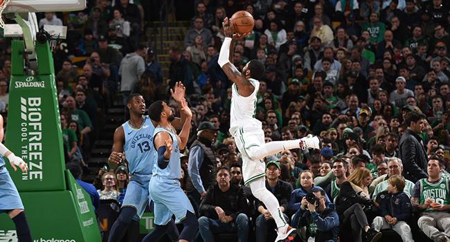 Irving coştu Boston Celtics kazandı