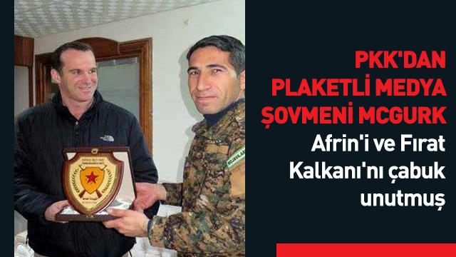YPG aşığı McGurk, işinden olunca Türkiye'ye yüklendi