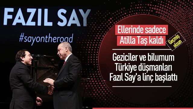 Başkan Erdoğan, Fazıl Say'ın konserini izledi