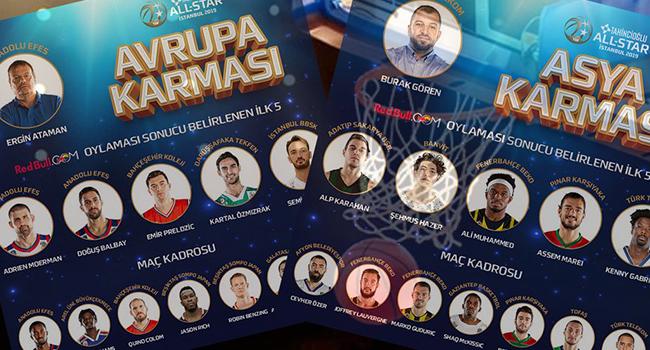 Tahincioğlu All Star 2019 yarın İstanbul'da yapılacak
