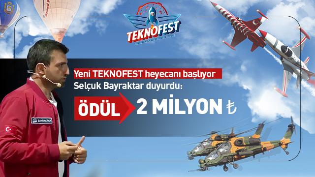 Teknofest 2019 teknoloji yarışmalarının başvuruları başladı