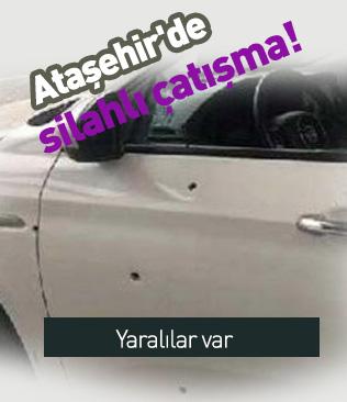 Ataşehir'de silahlı çatışmada 3 kişi yaralandı