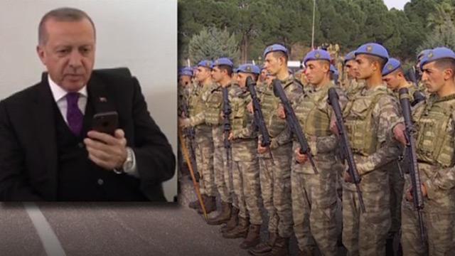 Başkan Erdoğan Afrin kahramanlarını tebrik etti