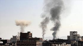 Koalisyon güçlerinden Sana'ya yoğun hava saldırısı
