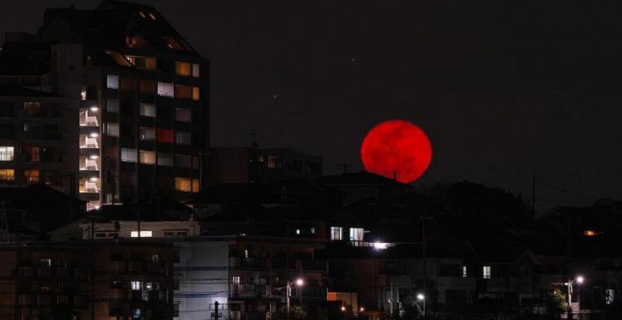 Kanlı Ay Tutulması Nedir Yaşam Haberi Güneş