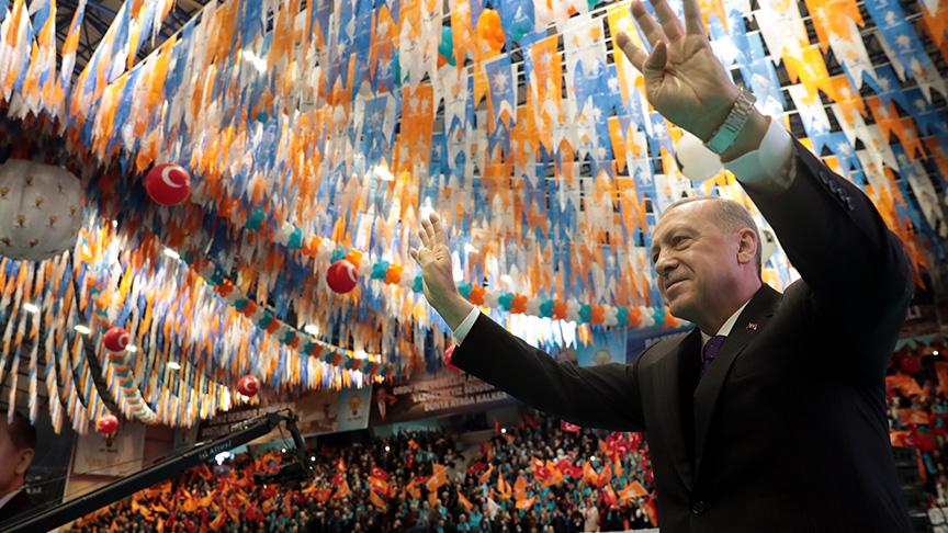 Başkan Erdoğan: Siyasetin bir hasbiliği vardır, bir de hesabiliği vardır