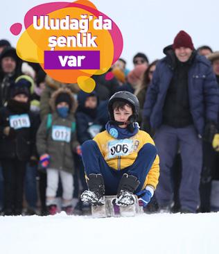 Uludağ'da 'Kış Şenliği'