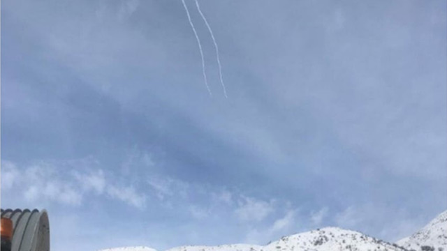 Katil İsrail: Suriye'nin attığı bir roketi etkisiz hale getirdik