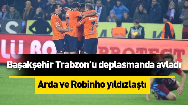 Başakşehir Trabzonspor'u delasmanda avladı