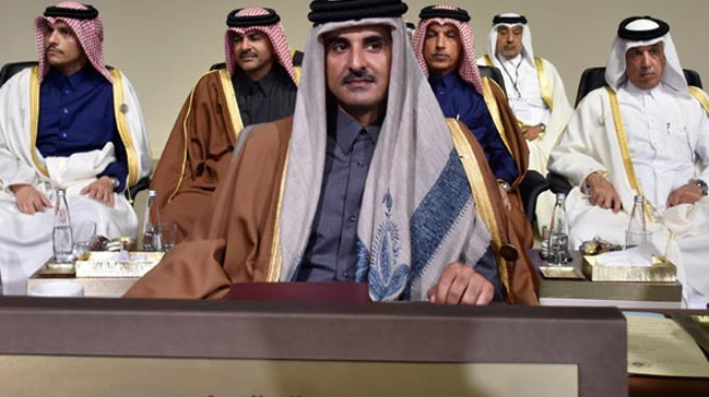 Katar Emiri son dakika değişikliği ile zirveye neden katıldığını açıkladı