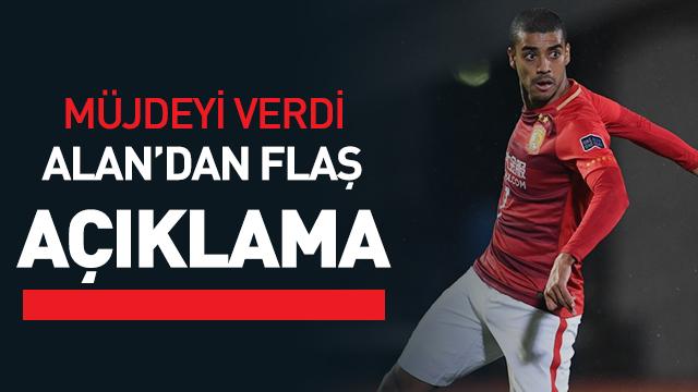 Alan Carvalho'dan Galatasaray açıklaması! 'Sözümün arkasındayım, Galatasaray'a geliyorum'