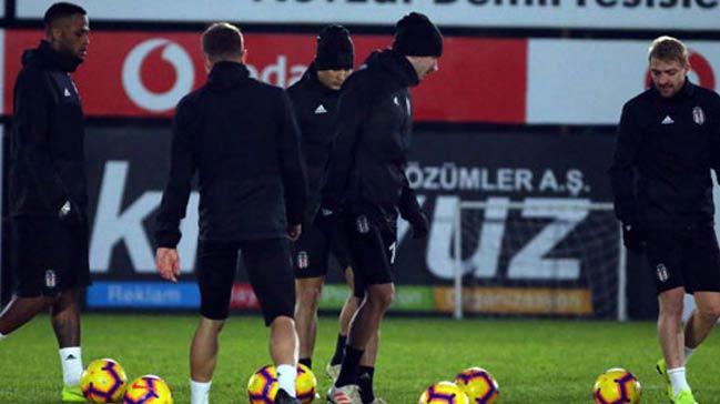 Beşiktaş, Erzurumspor'a hazırlanıyor