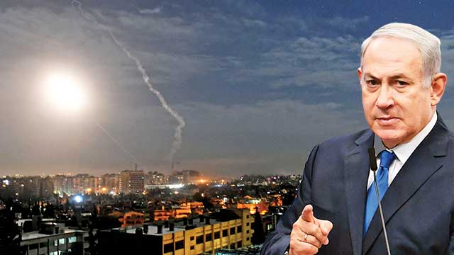 İsrail Şam'a füze yağdırdı