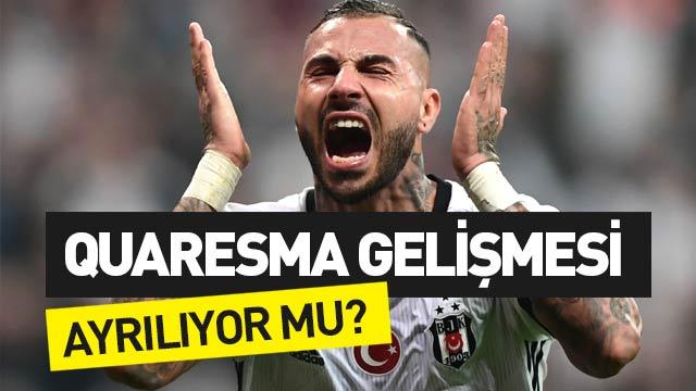 Ricardo Quaresma Beşiktaş'tan ayrılacak mı?
